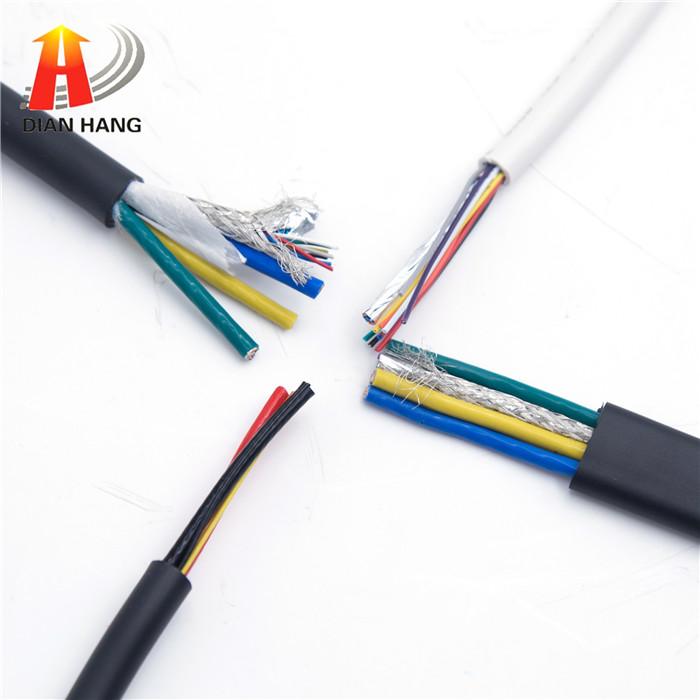 防水电线 3+6多规格定制线缆 PU/TPE/PVC绝缘护套...